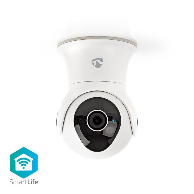 Nieuw in Doos! Nedis SmartLife Wi-Fi IP camera  / draaien en kantelen / FUL HD 1080p / IP65 / Cloud / 16GB / Nachtzicht / iOS Android